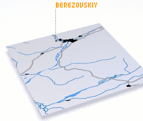 3d view of Berëzovskiy