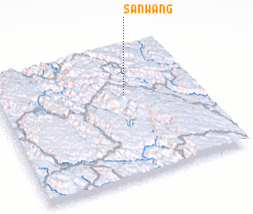 3d view of Sanwang