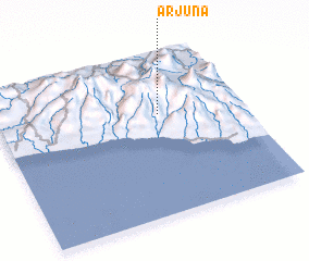 3d view of Arjuna