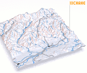 3d view of Xichahe