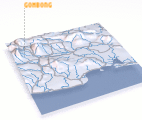 3d view of Gombong
