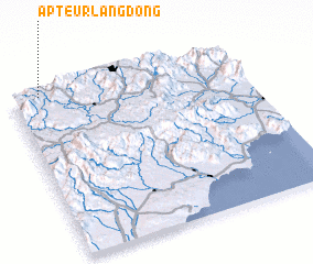 3d view of Ấp Teurlang Ðông
