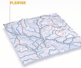 3d view of Plei Piơm