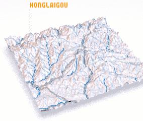 3d view of Honglaigou