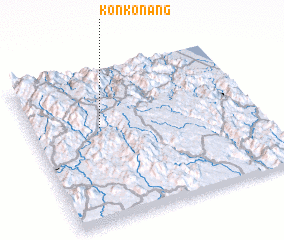 3d view of Kon Konang