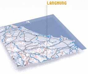 3d view of Làng Mung