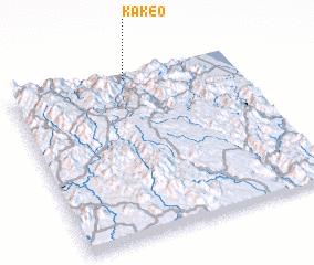 3d view of Kakeo