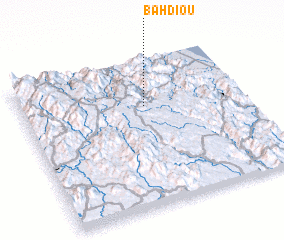3d view of Bah Diou