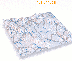 3d view of Plei Van Vo (1)