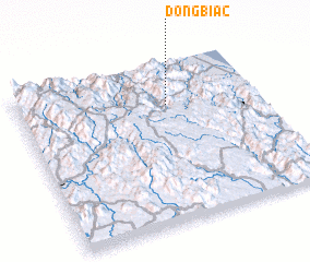 3d view of Ðồng Bia (2)