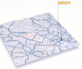 3d view of Gongyi