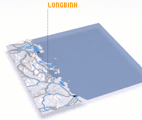 3d view of Long Bình