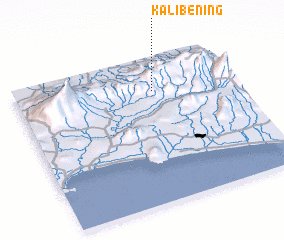 3d view of Kalibening