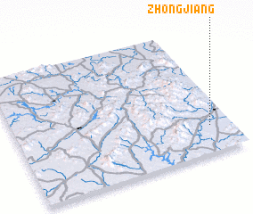 3d view of Zhongjiang
