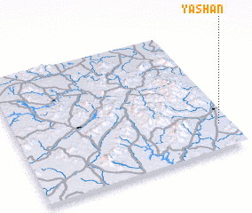 3d view of Yashan