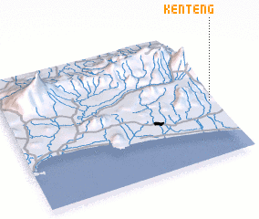 3d view of Kenteng