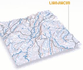 3d view of Liaojiacun