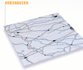 3d view of Erbshausen