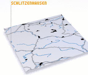 3d view of Schlitzenhausen