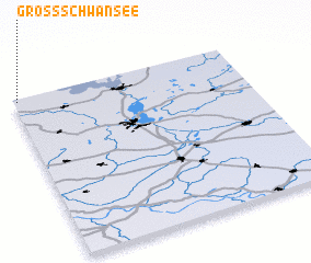 3d view of Groß Schwansee