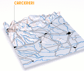 3d view of Carcereri