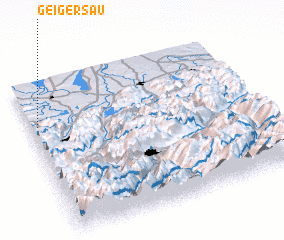 3d view of Geigersau