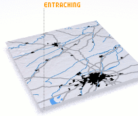 3d view of Entraching