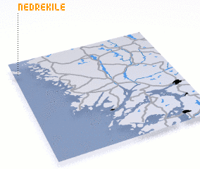 3d view of Nedre Kile