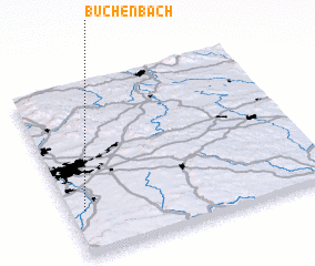 3d view of Büchenbach