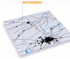 3d view of Hechenwang