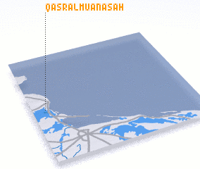 3d view of Qaşr al Mu'ānasah