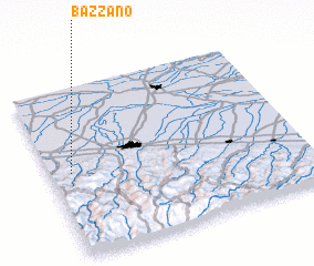 3d view of Bazzano