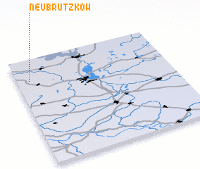 3d view of Neu Brützkow