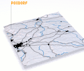 3d view of Poxdorf