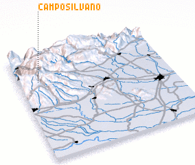3d view of Camposilvano