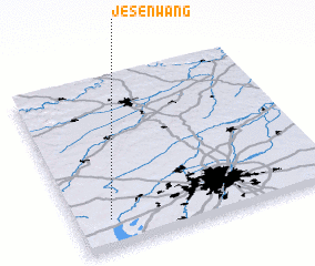 3d view of Jesenwang