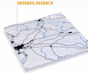 3d view of Oberweilersbach