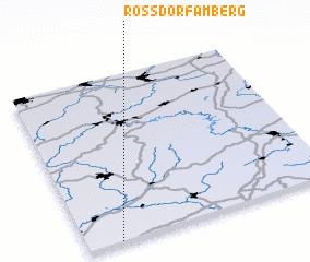 3d view of Roßdorf am Berg