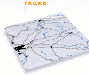 3d view of Mögeldorf