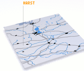 3d view of Harst
