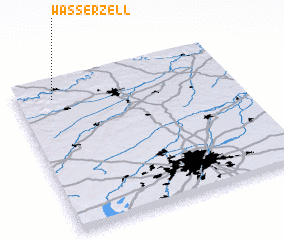 3d view of Wasserzell