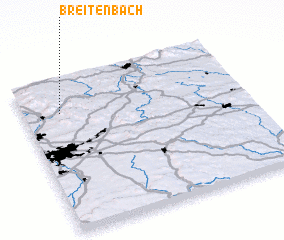 3d view of Breitenbach