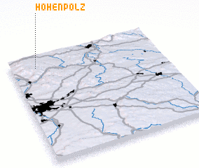 3d view of Hohenpölz