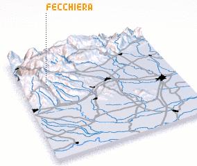 3d view of Fecchiera