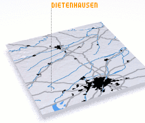 3d view of Dietenhausen