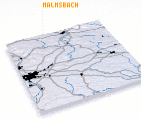 3d view of Malmsbach