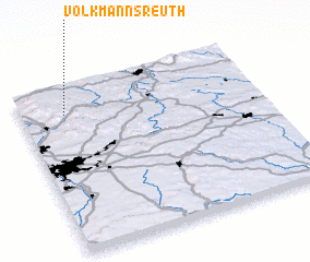 3d view of Volkmannsreuth