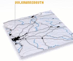 3d view of Volkmannsreuth
