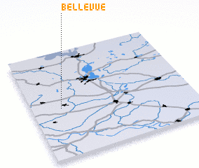 3d view of Bellevue
