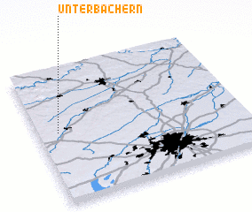 3d view of Unterbachern